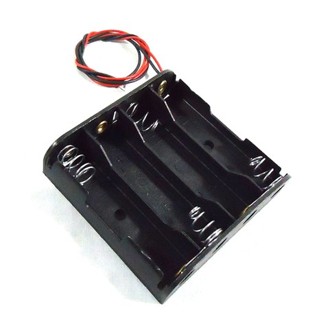 4 AA Battery Holder