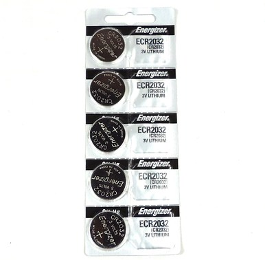 CR2032 Energizer Battery 5 Pack
