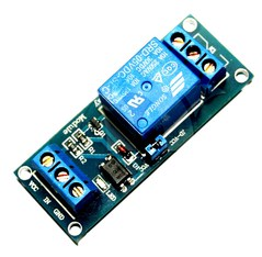 1-Channel Opto-Isolated Relay Module Low Trigger 5V Arduino With Screw Terminals