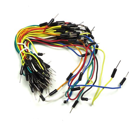Solderless Flexible Breadboard Jumper Cable Pack
