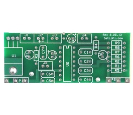 LoFi Delay PT2399 PCB