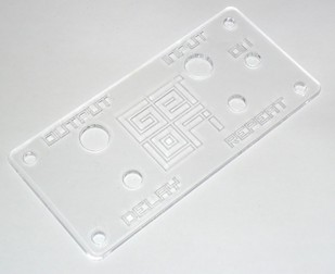 LoFi Delay Acrylic Panel ( Clear )