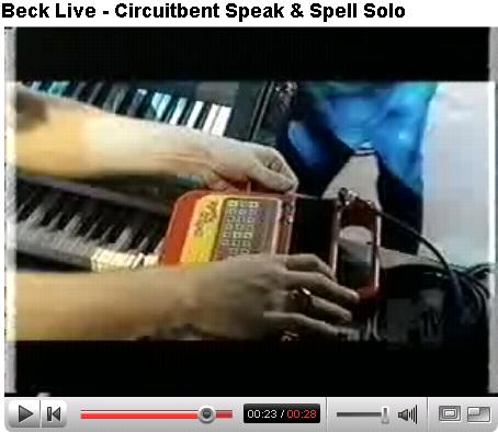 Beck Circuit Bent Speak and Spell Jam
