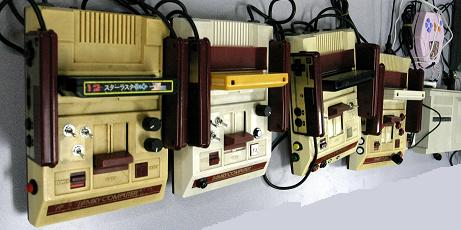 Circuit Bent Famicoms