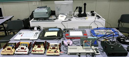 Circuit Bent Famicoms and Homecomputers