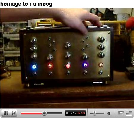 MIke Ford RAMoog Video Sample