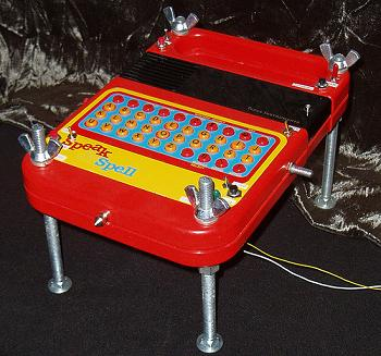 Squelchbox Speak and Spell 4 Legs