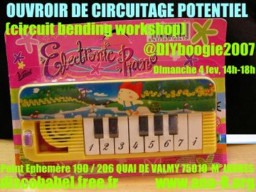 Circuit Bending workshop in Paris France