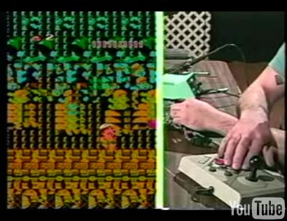 Pete circuit bending a nintendo live