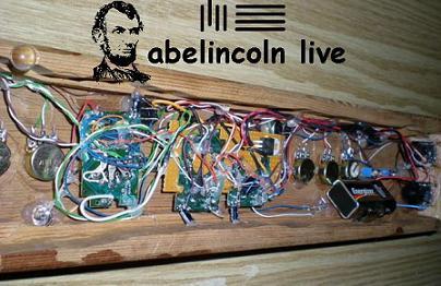 abelincoln live sampler back