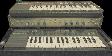 Casio Twins sk-1 modified