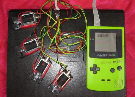 Gameboy Solenoid Sequencer