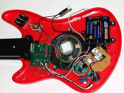 looping circuit bent guitar