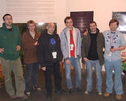 Circuit Bending Friends Igloo Martian, Circuit Ben Reaction, Datura, Talking Computron, Eraser, BeatrixJar
