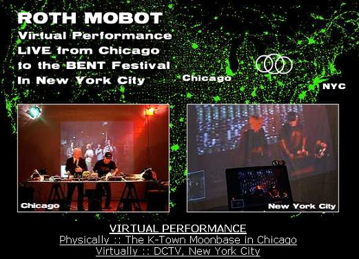 Circuit Bending Duo Roth Mobot Performing Live from Chicago