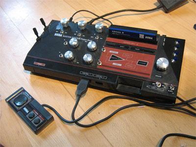 Circuit Bent Sega Master System