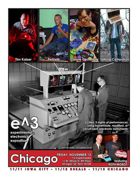 e^3 poster